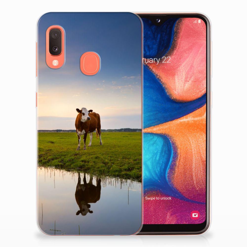 Samsung Galaxy A20e TPU Hoesje Koe