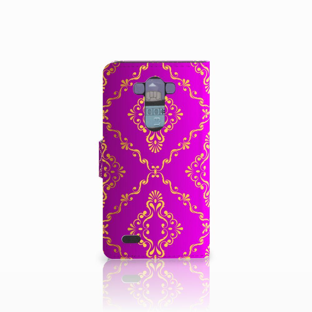 Wallet Case LG G3 Barok Roze