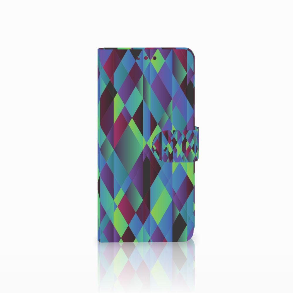Huawei Mate 20 Boekhoesje Design Abstract Green Blue