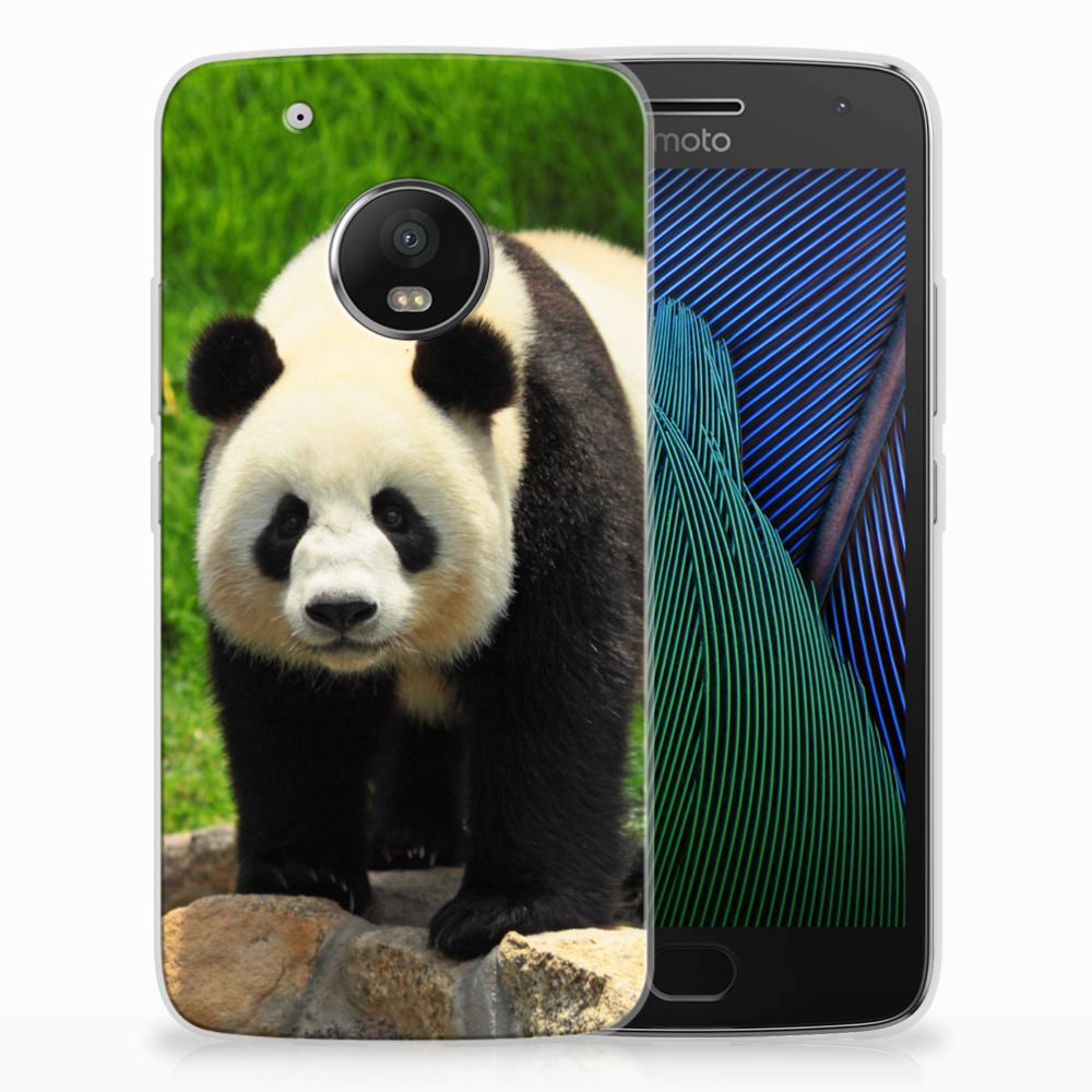 Motorola Moto G5 Plus TPU Hoesje Design Panda