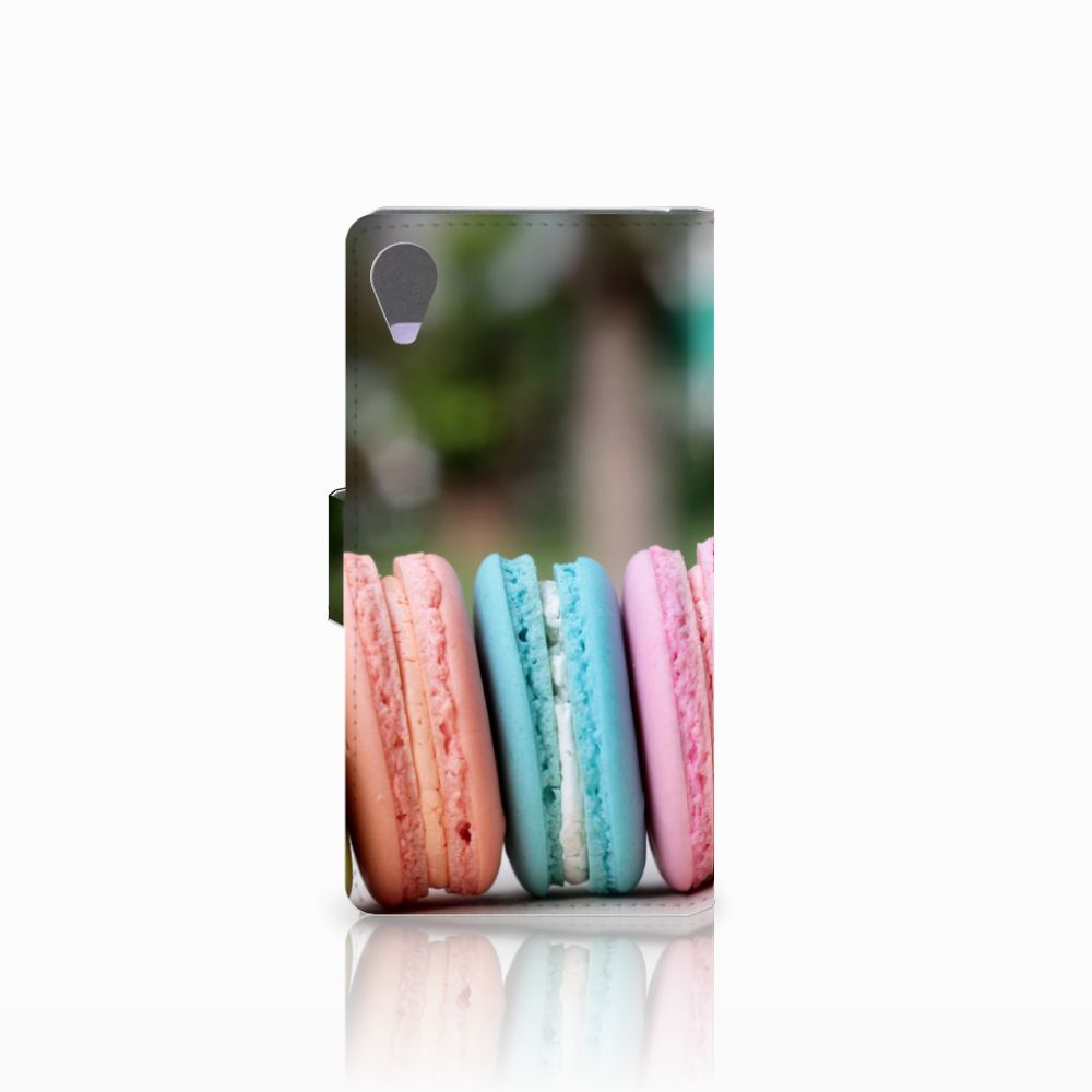 Sony Xperia X Performance Book Cover Macarons
