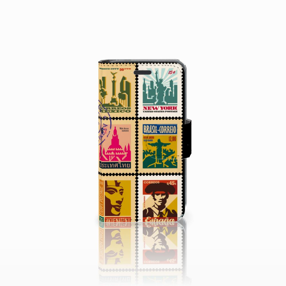 Nokia Lumia 520 Uniek Boekhoesje Postzegels
