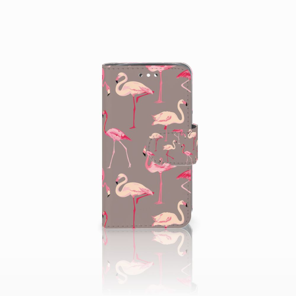Huawei Y360 Uniek Boekhoesje Flamingo