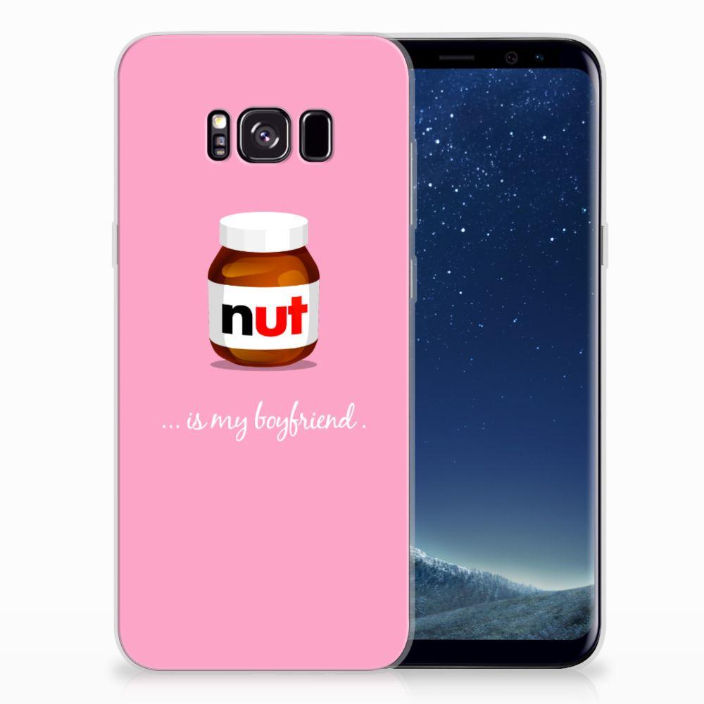 Samsung Galaxy S8 Plus Siliconen Case Nut Boyfriend