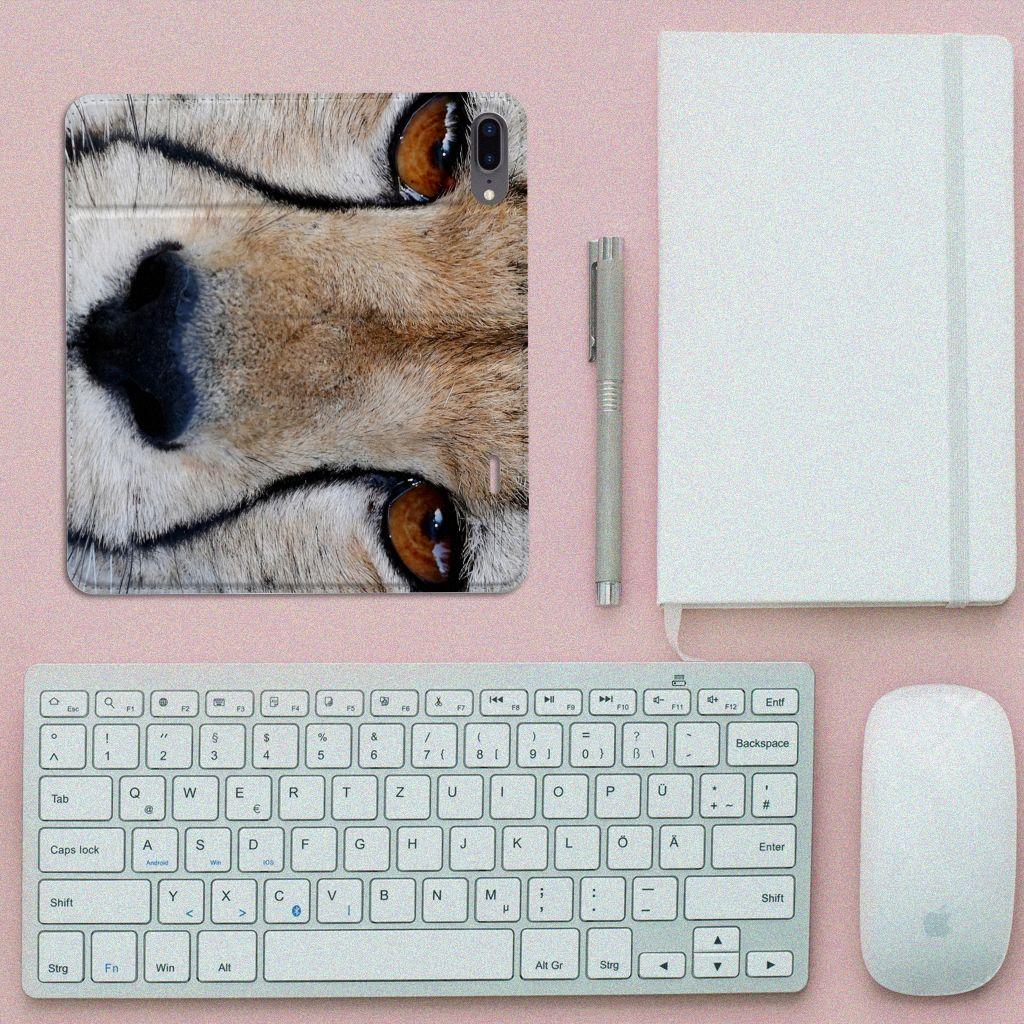 Apple iPhone 7 Plus | 8 Plus Hoesje maken Cheetah