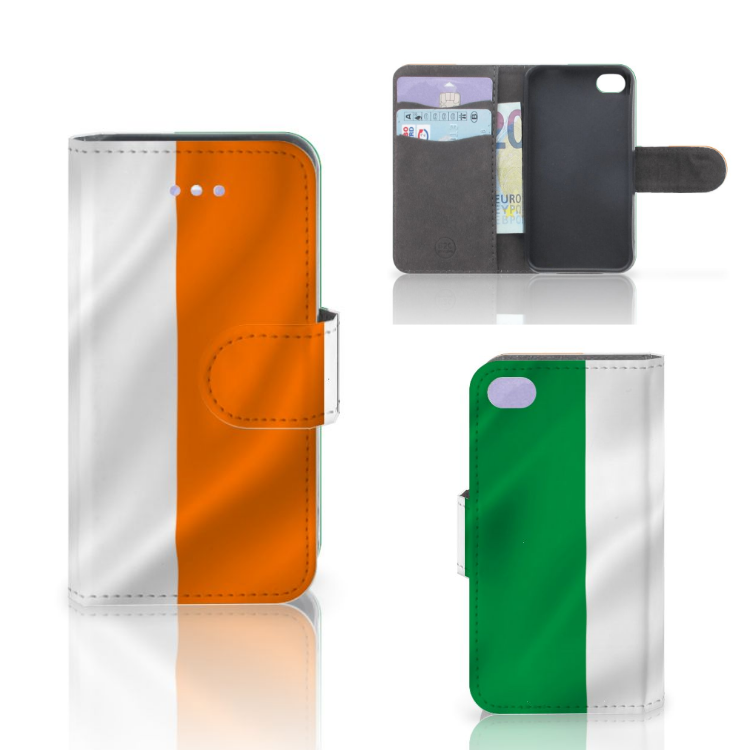 Apple iPhone 4 | 4S Bookstyle Case Ierland