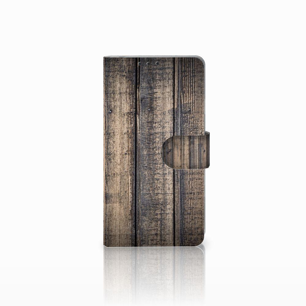 Sony Xperia Z1 Boekhoesje Design Steigerhout