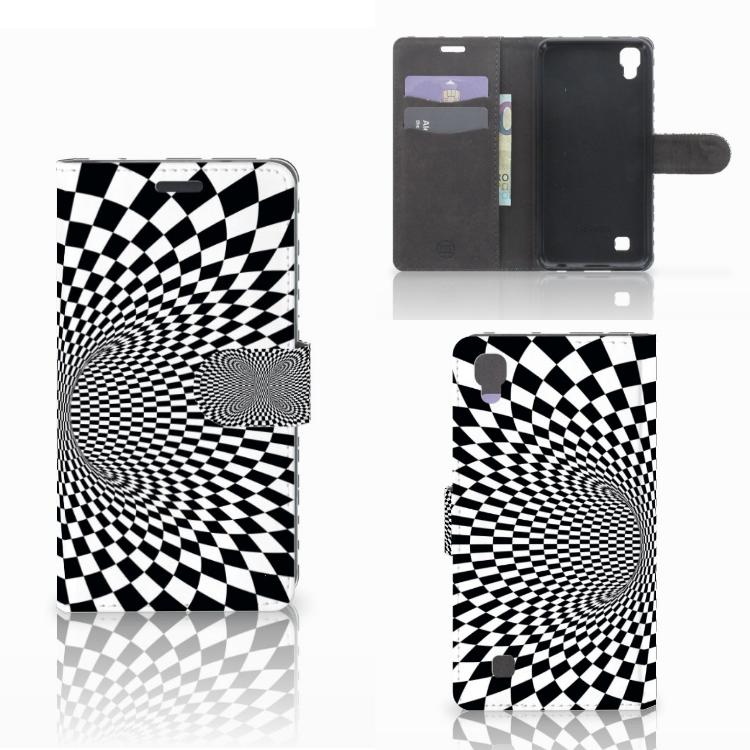 LG X Power Bookcase Illusie
