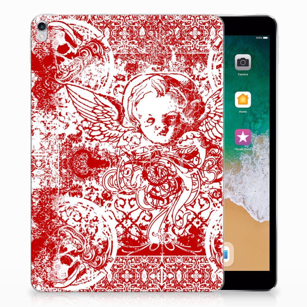 Tablet BackCover Apple iPad Pro 10.5 Angel Skull Rood