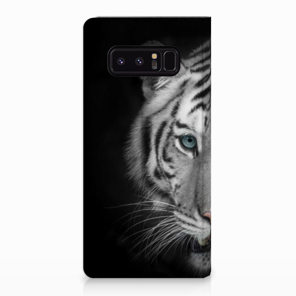 Samsung Galaxy Note 8 Uniek Standcase Hoesje Tijger