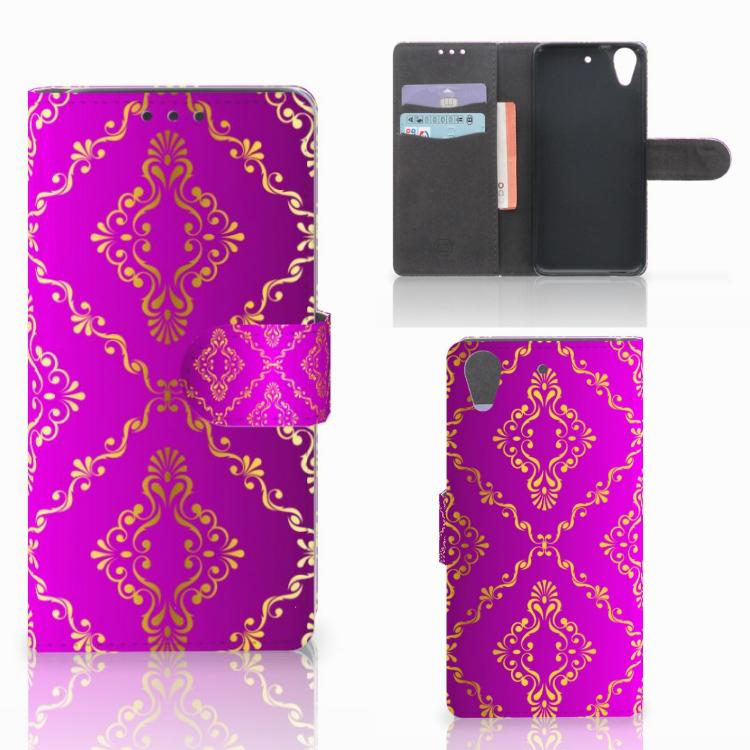 Wallet Case HTC Desire 626 | Desire 626s Barok Roze