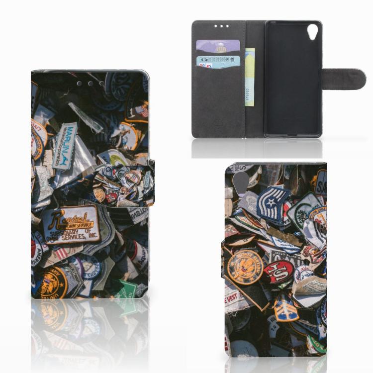 Sony Xperia X Telefoonhoesje met foto Badges