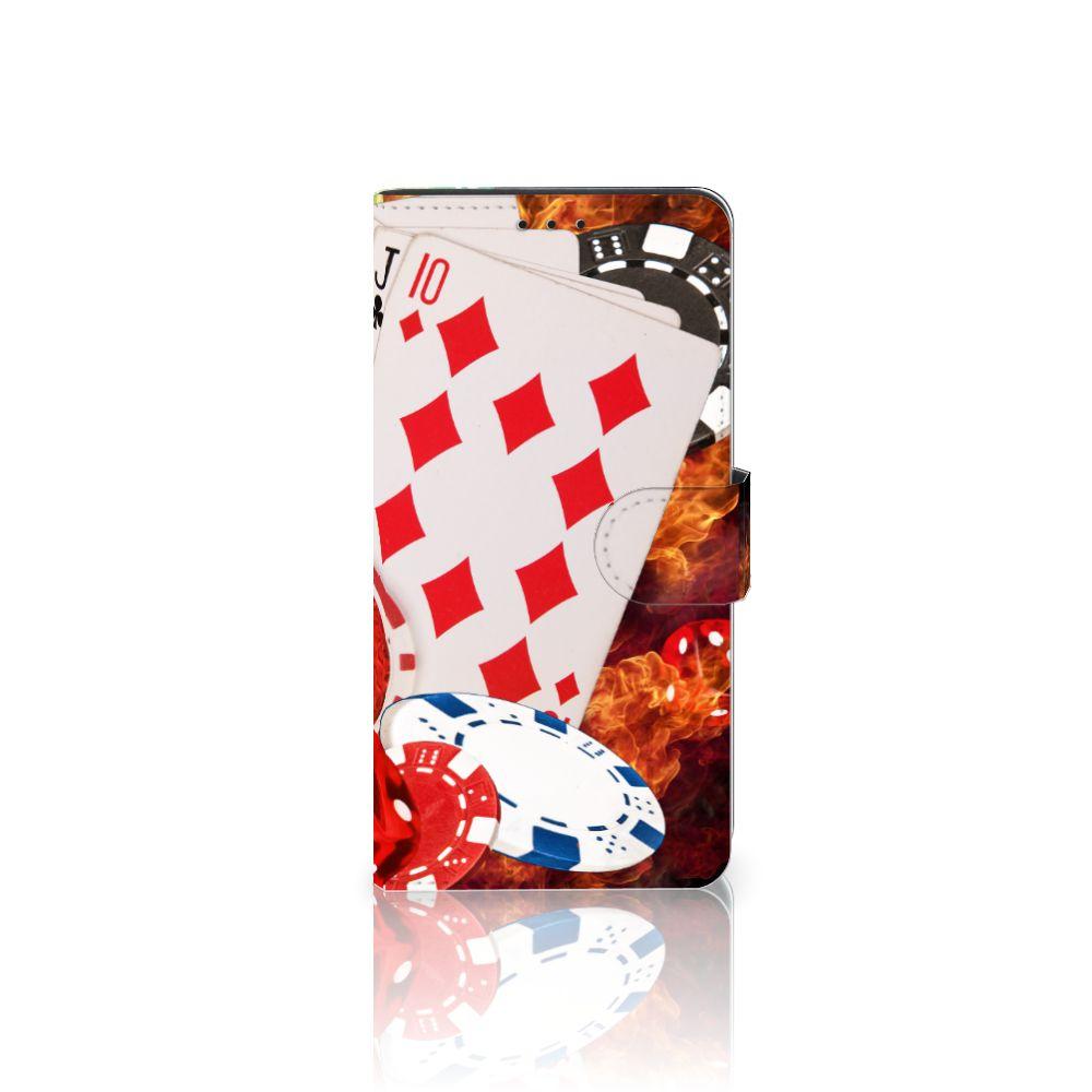 Huawei Mate 20 Lite Uniek Boekhoesje Casino