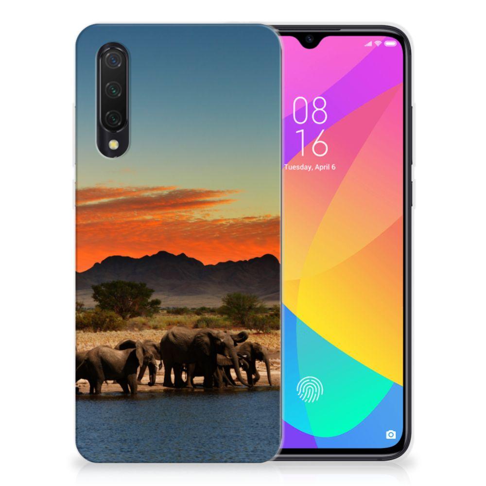 Xiaomi Mi 9 Lite TPU Hoesje Olifanten