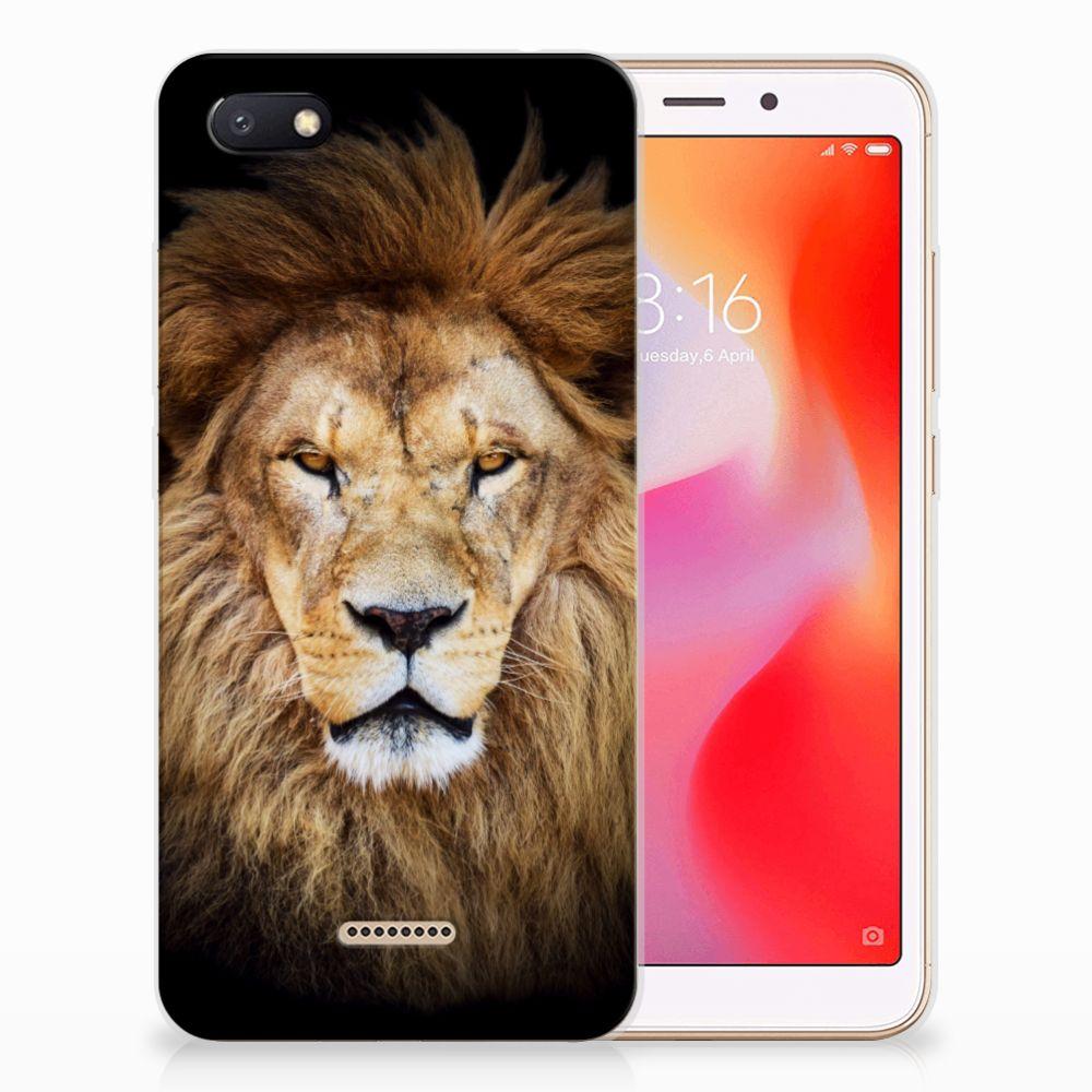 Xiaomi Redmi 6A TPU Hoesje Leeuw