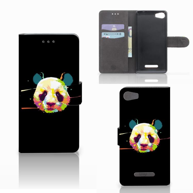 Wiko Lenny 2 Leuke Hoesje Panda Color