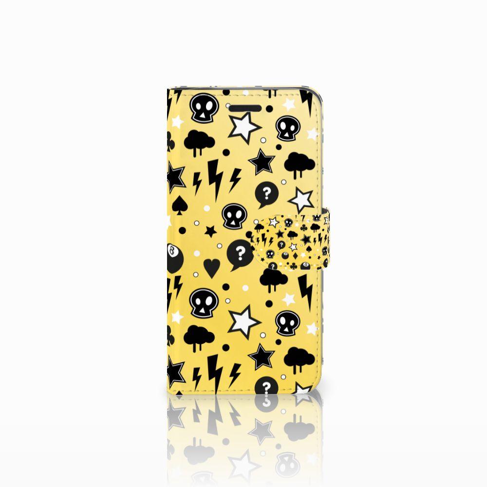 Acer Liquid Z530 | Z530s Uniek Boekhoesje Punk Yellow