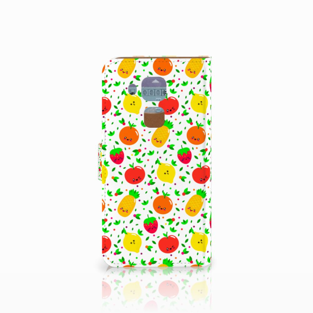 Huawei Nova Plus Book Cover Fruits