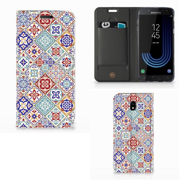 Samsung Galaxy J5 2017 Standcase Tiles Color