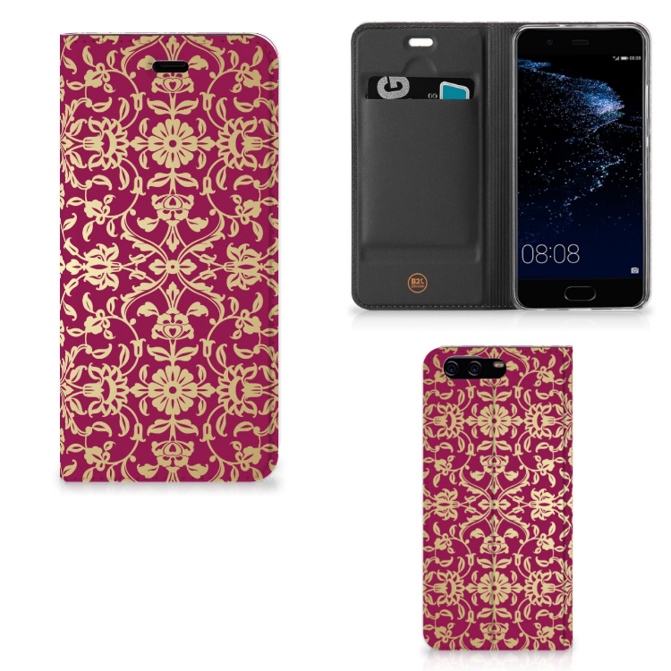 Telefoon Hoesje Huawei P10 Barok Pink