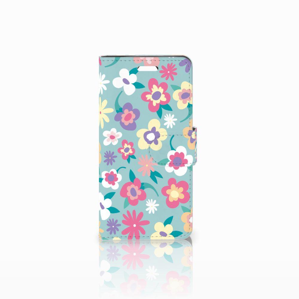 Acer Liquid Z330 Boekhoesje Design Flower Power
