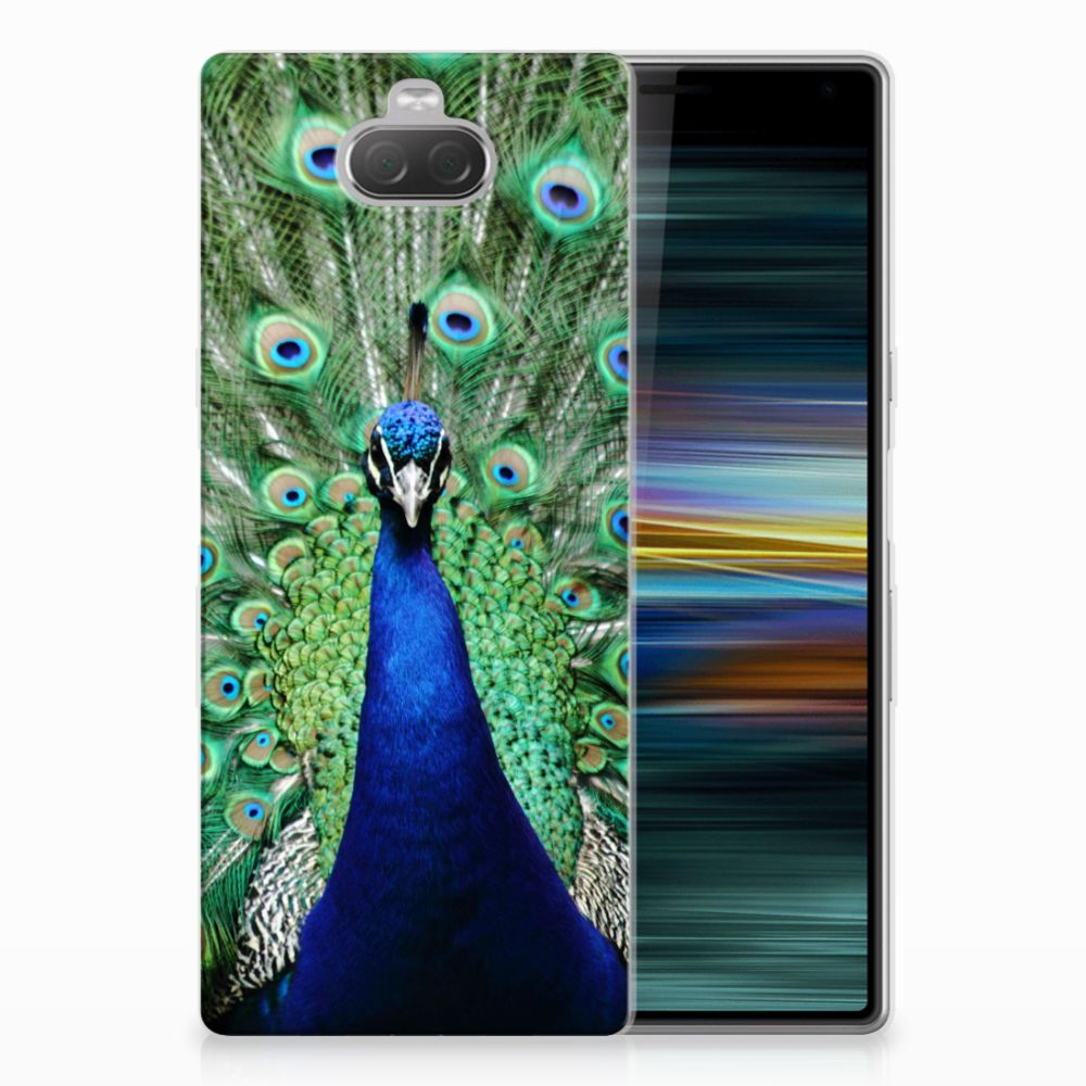 Sony Xperia 10 Plus TPU Hoesje Pauw