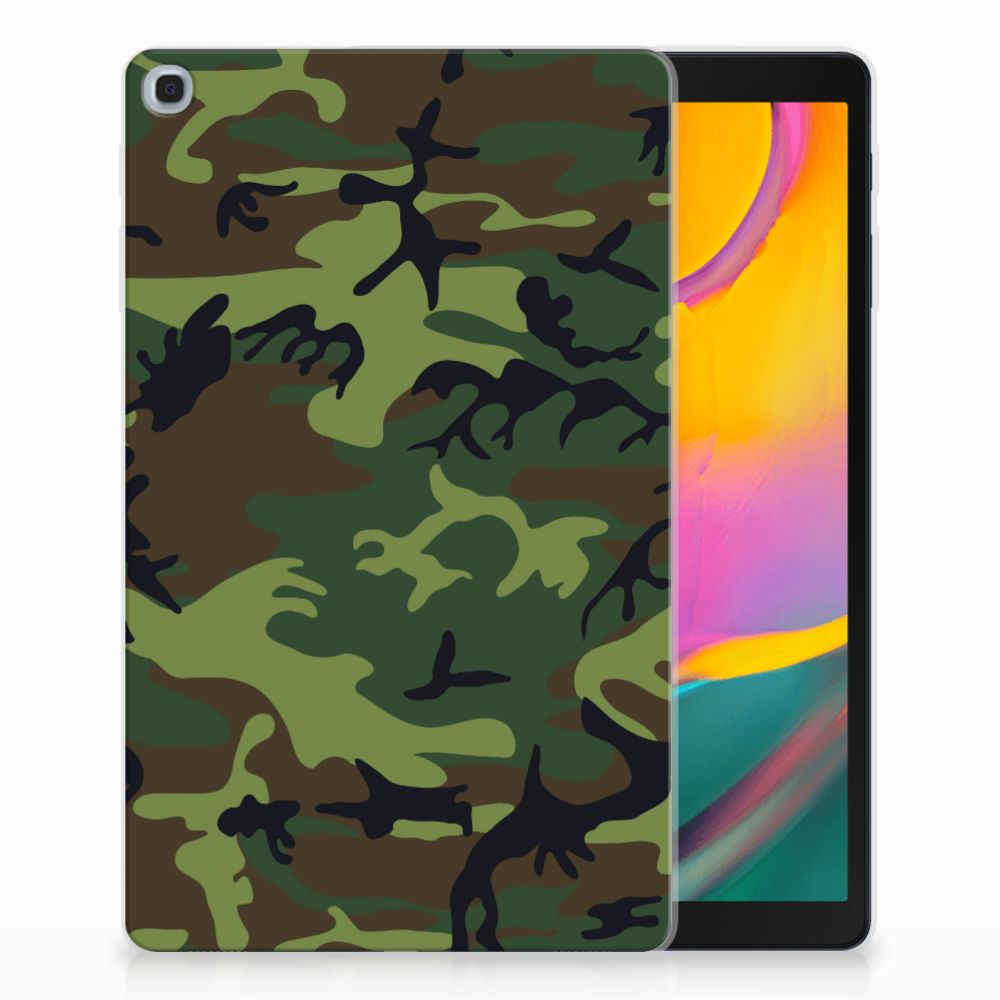 Samsung Galaxy Tab A 10.1 (2019) Tablethoesje Design Army Dark