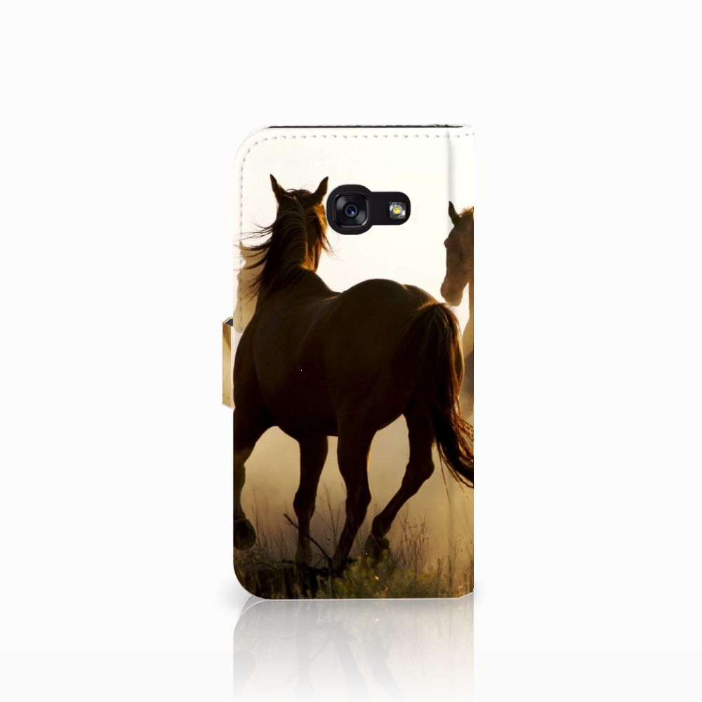 Samsung Galaxy A5 2017 Telefoonhoesje met Pasjes Design Cowboy