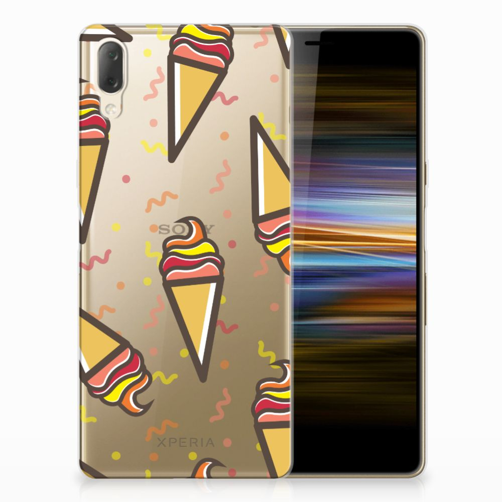 Sony Xperia L3 Siliconen Case Icecream