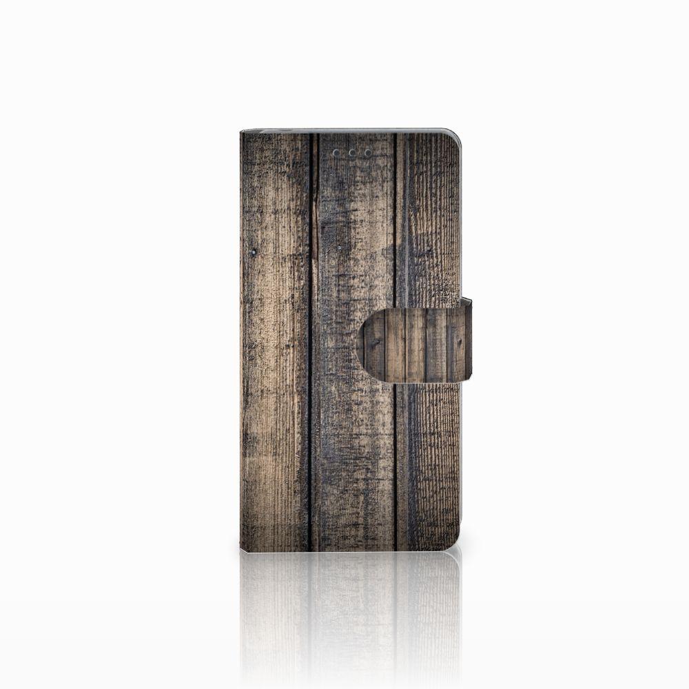 Sony Xperia Z Boekhoesje Design Steigerhout