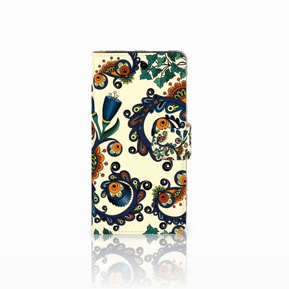 Wallet Case Wiko Lenny 3 Barok Flower