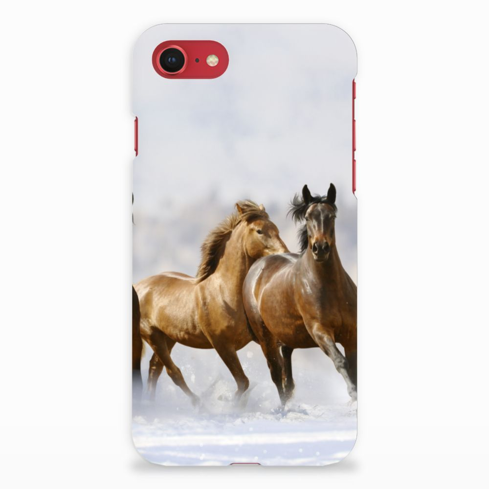Apple iPhone 7   8 Rubber Case Paarden