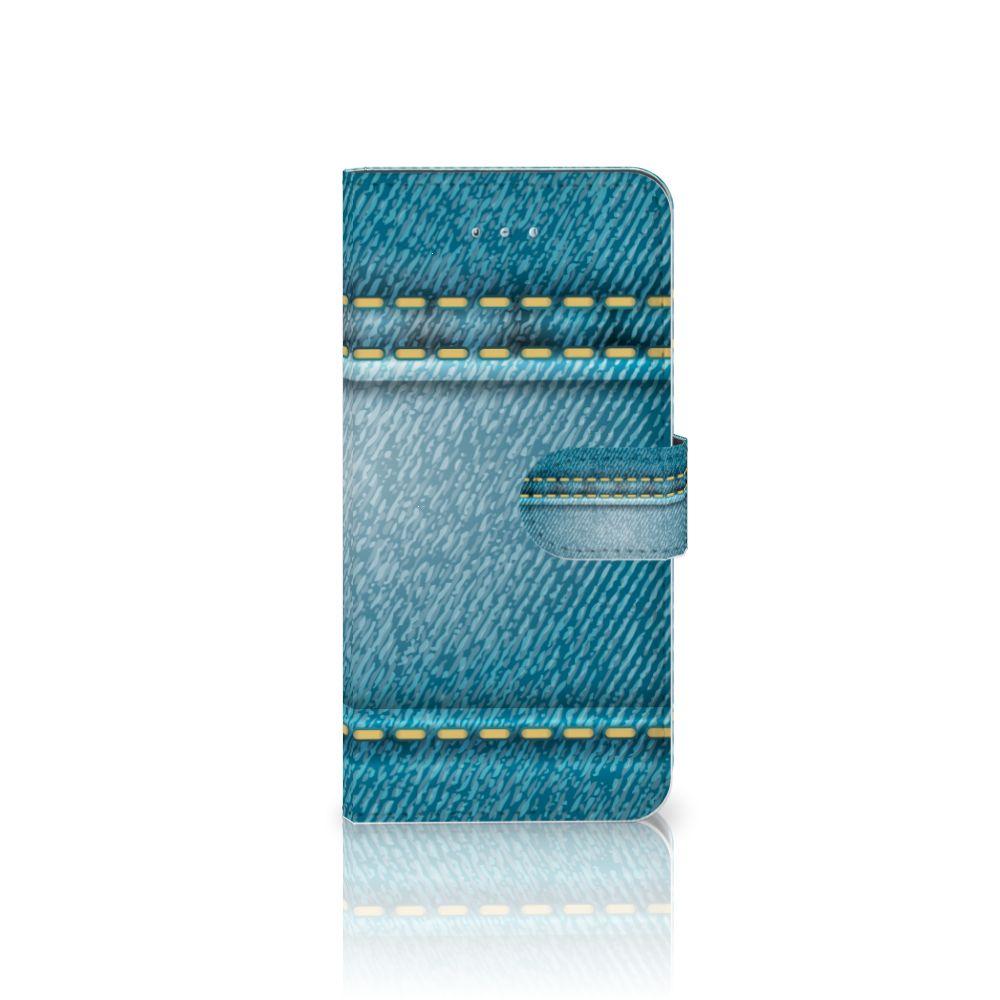 Honor 4A | Y6 Wallet Case met Pasjes Jeans