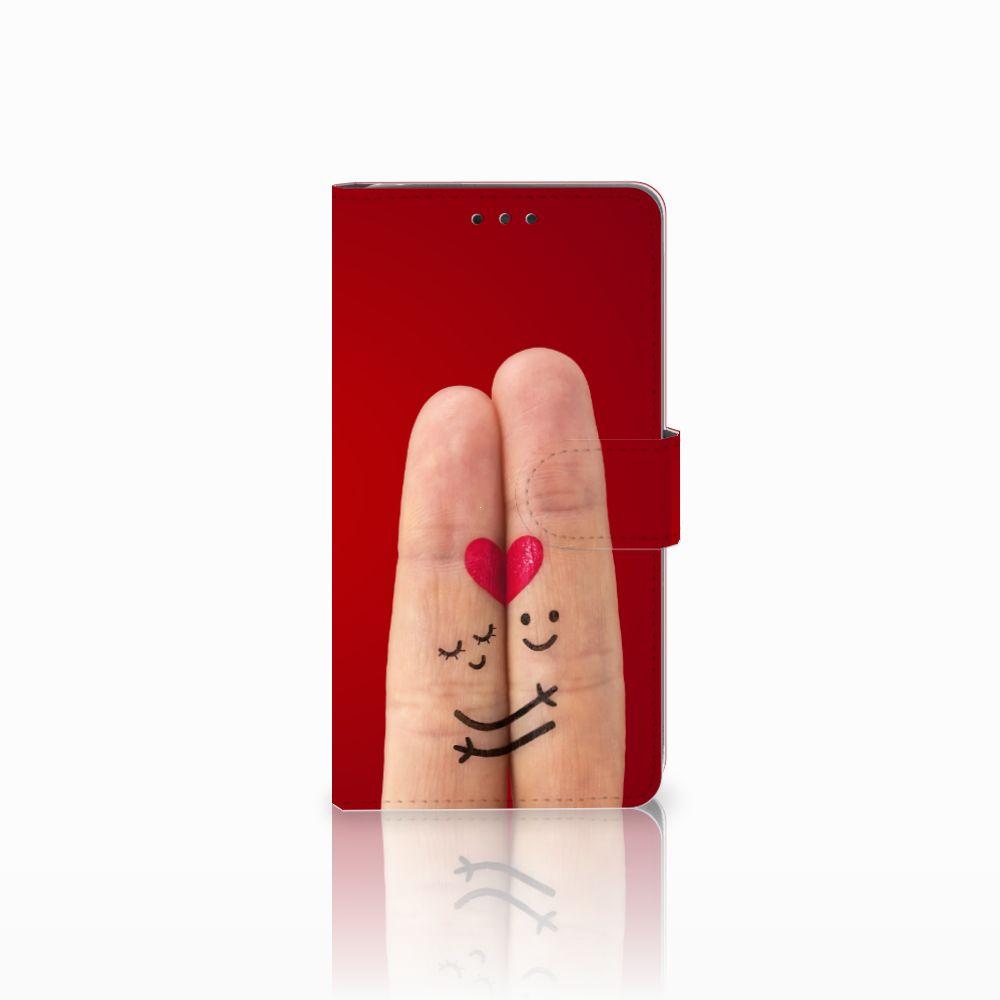 LG G4 Uniek Boekhoesje Liefde