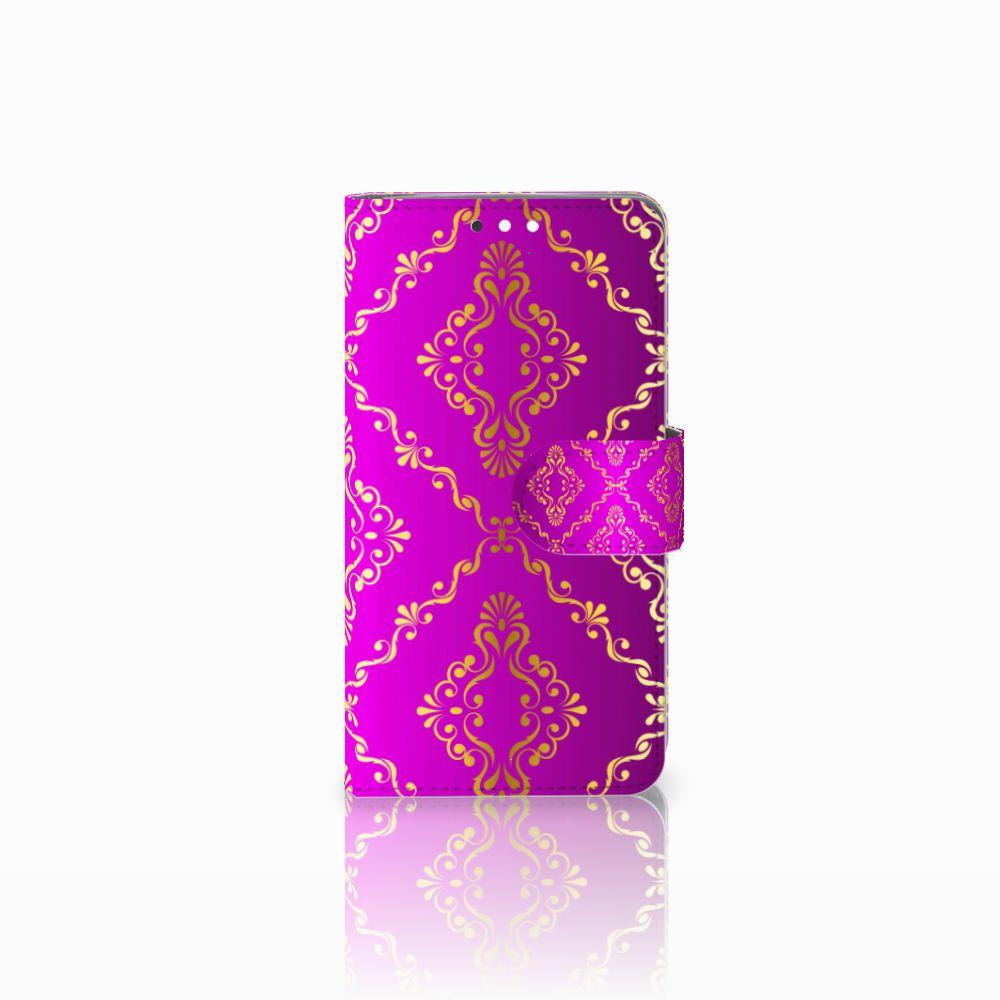 Nokia 8 Sirocco | Nokia 9 Uniek Boekhoesje Barok Roze