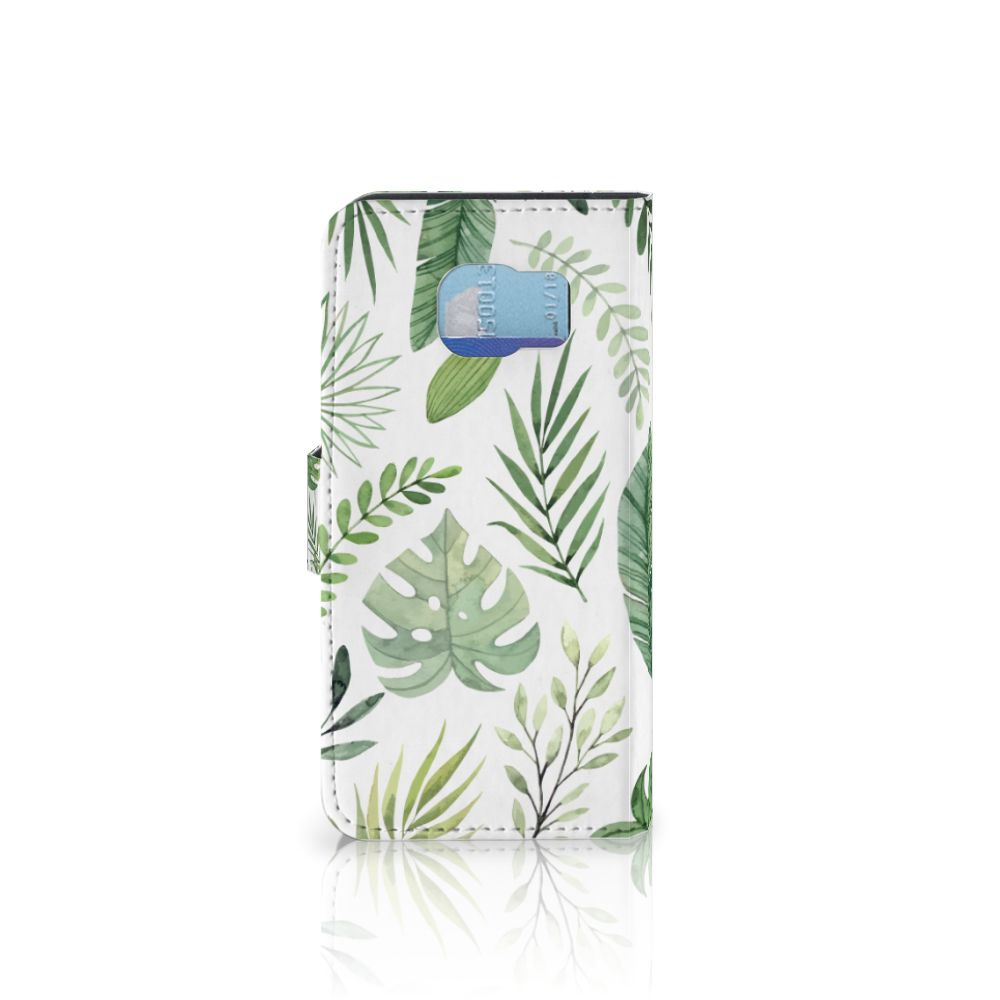 Samsung Galaxy S6 | S6 Duos Hoesje Leaves