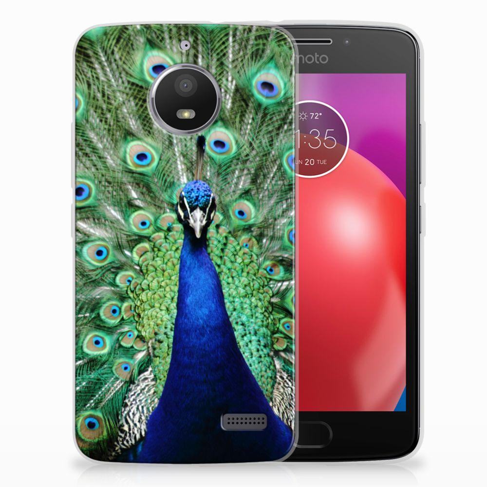 Motorola Moto E4 TPU Hoesje Pauw