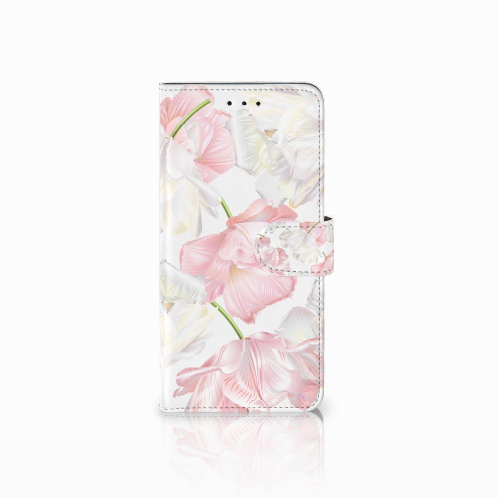 Motorola Moto E5 Plus Boekhoesje Design Lovely Flowers