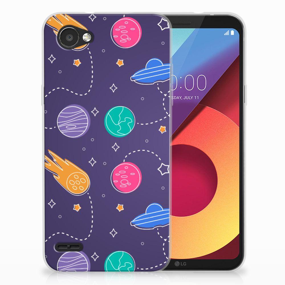 LG Q6   LG Q6 Plus Uniek TPU Hoesje Space