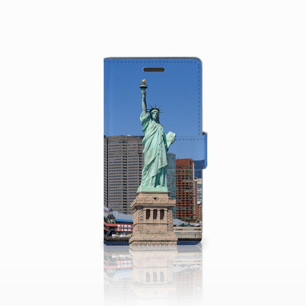 Nokia Lumia 830 Uniek Hoesje Opbergvakjes Vrijheidsbeeld