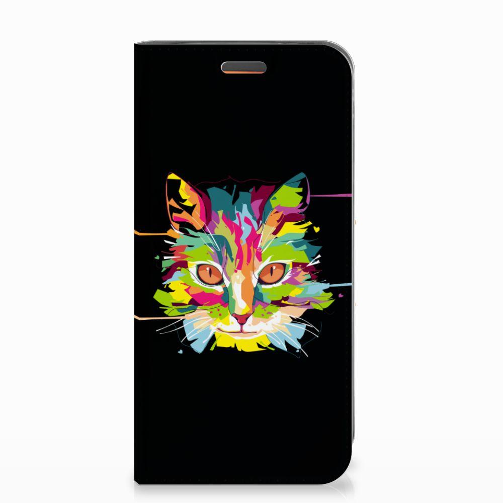 Motorola Moto E5 Play Magnet Case Cat Color