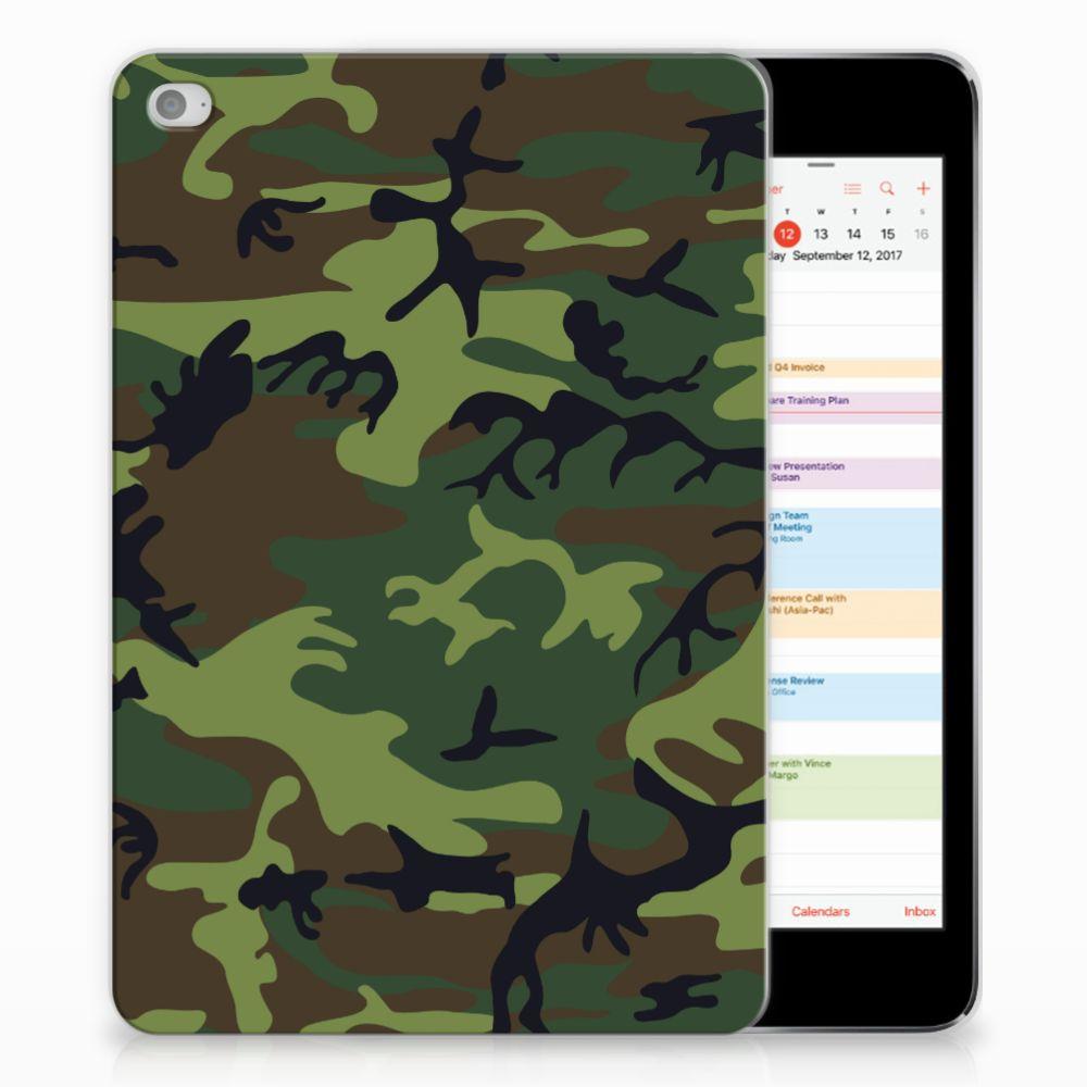 Apple iPad Mini 4 | Mini 5 (2019) Hippe Hoes Army Dark