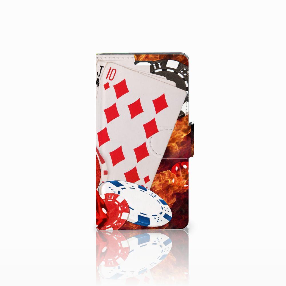 LG Magna | G4C Uniek Boekhoesje Casino