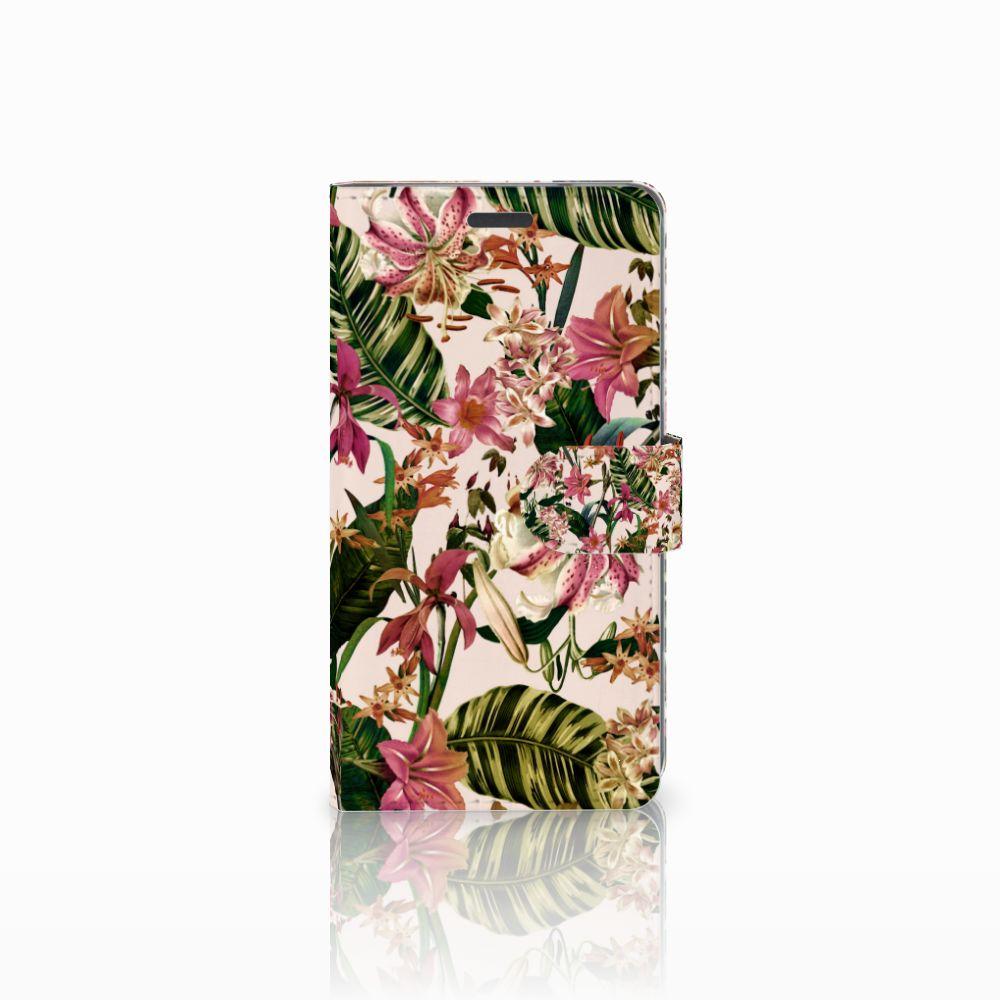 LG X Power Uniek Boekhoesje Flowers