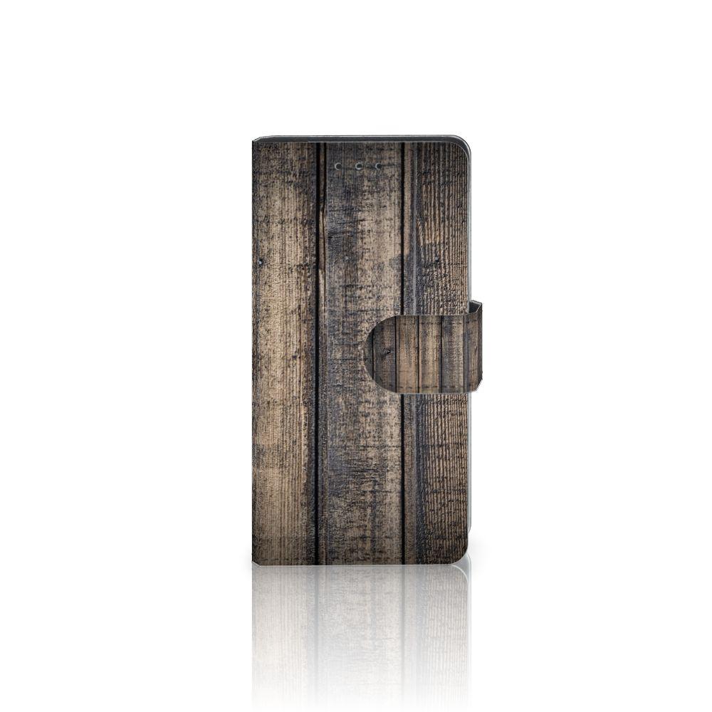 Samsung Galaxy S5 | S5 Neo Boekhoesje Design Steigerhout