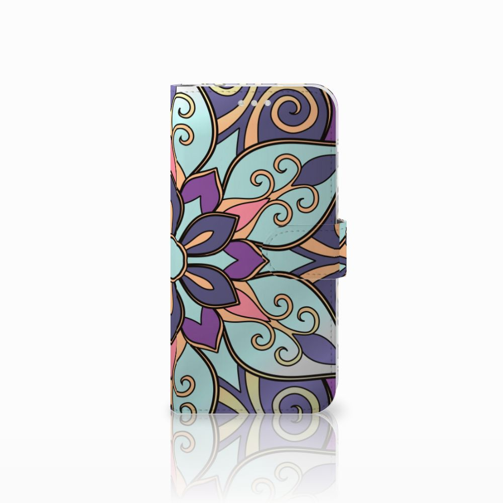 Huawei P20 Pro Boekhoesje Design Purple Flower