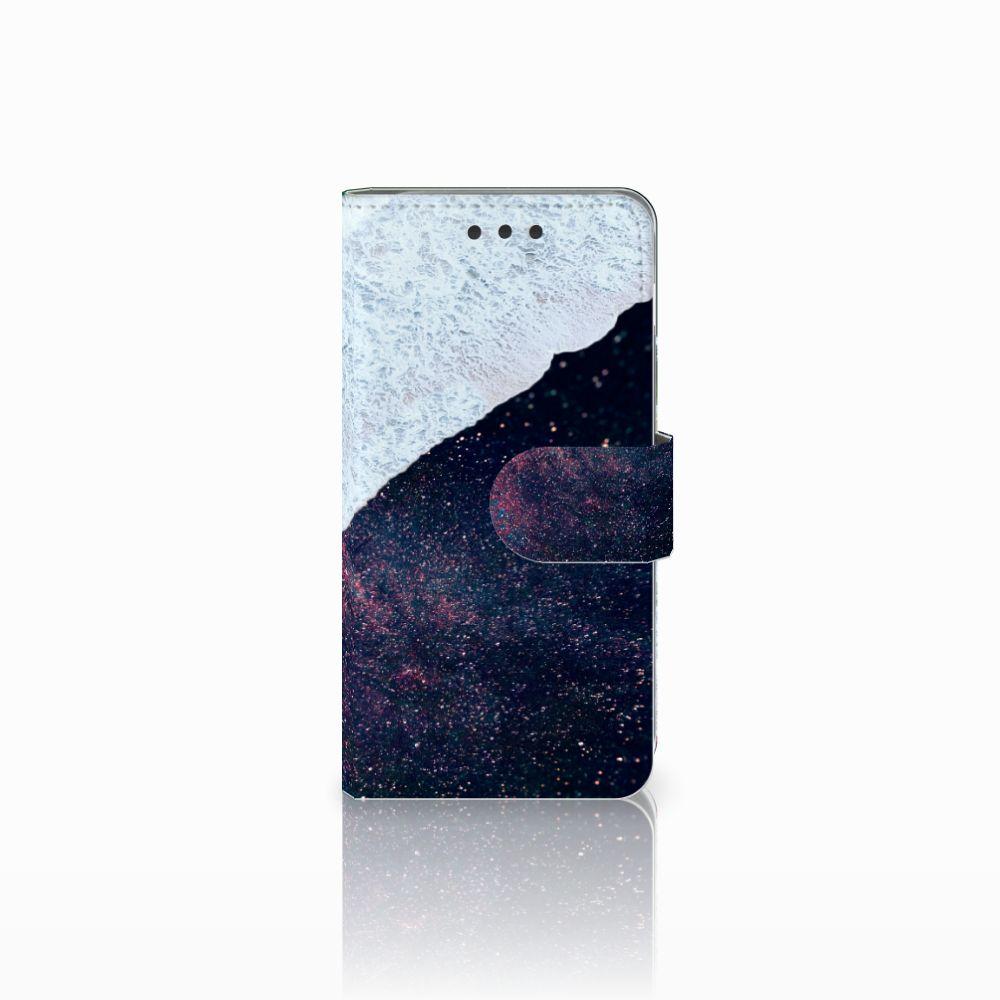 Samsung Galaxy A3 2016 Bookcase Sea in Space