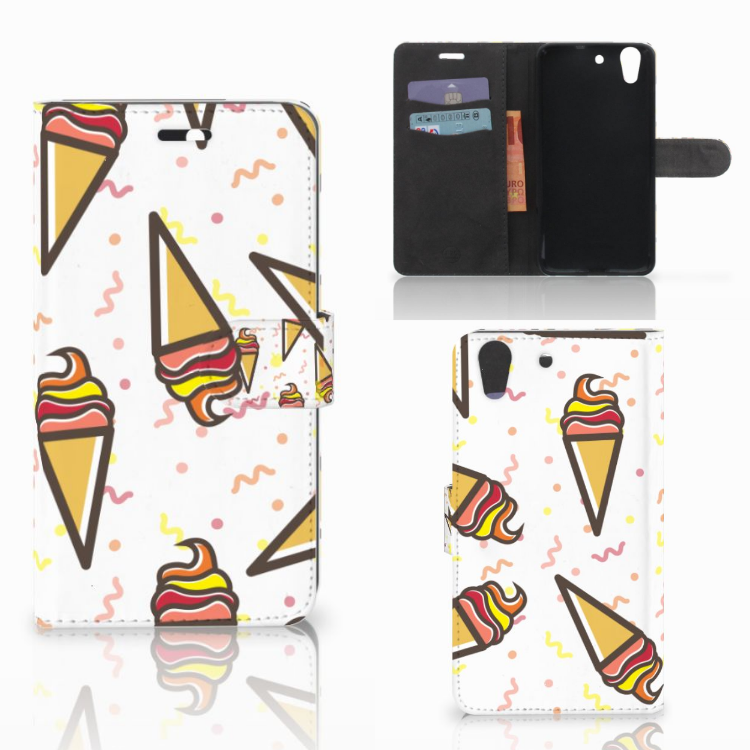 Huawei Y6 II | Honor 5A Book Cover Icecream
