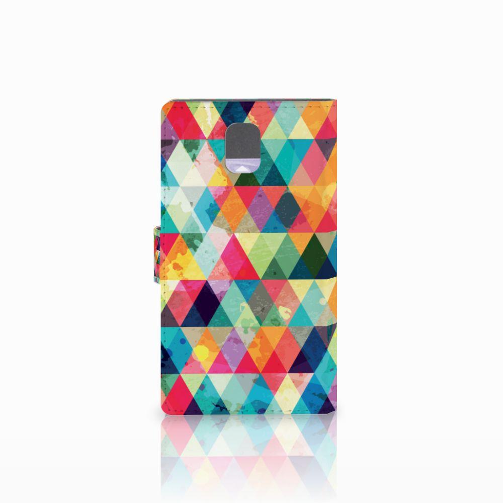 Samsung Galaxy Note 3 Telefoon Hoesje Geruit