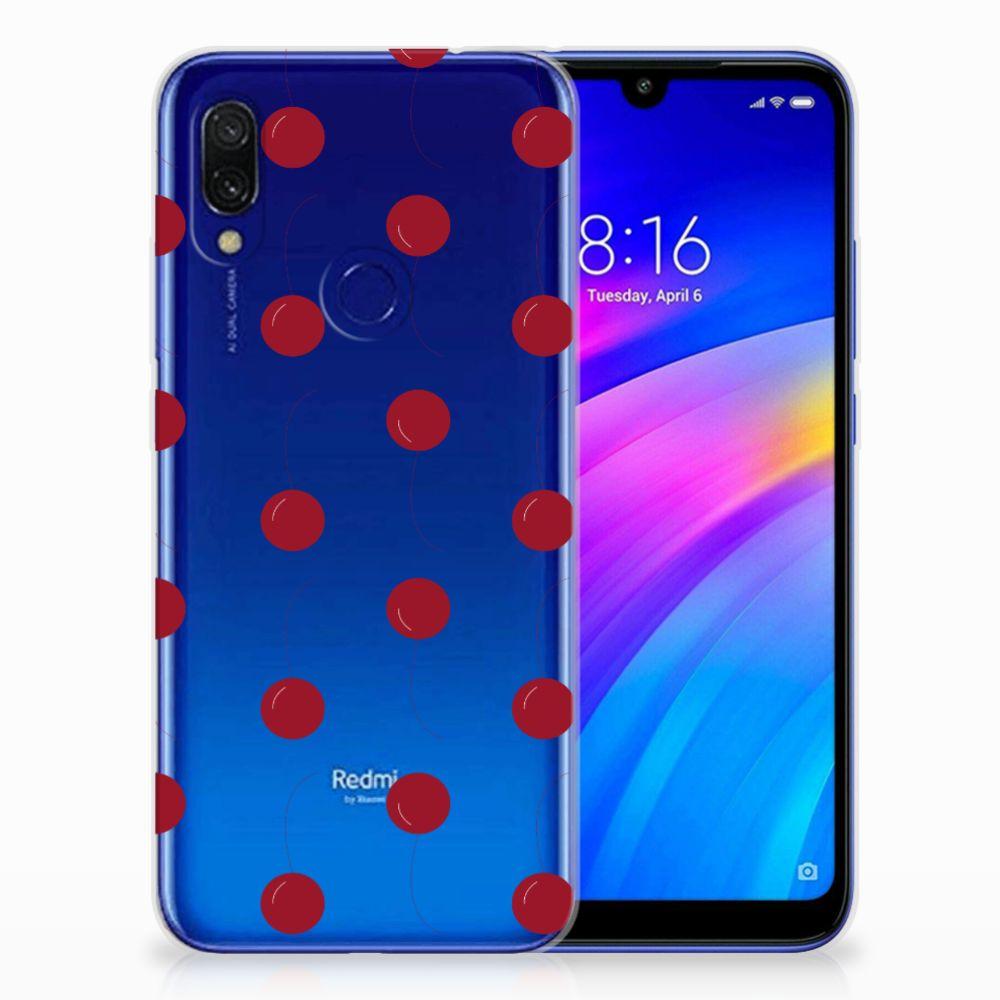Xiaomi Redmi 7 Siliconen Case Cherries